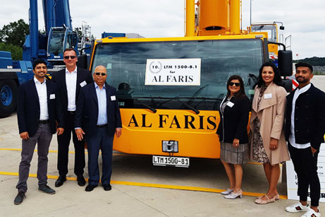 Al Faris Group' executive management attend Liebherr Customer Days 2018