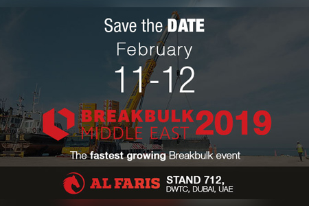 Al Faris at BREAKBULK ME