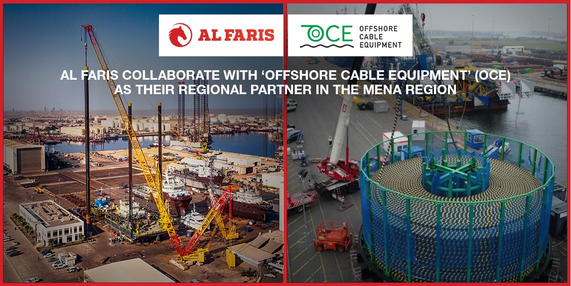 Al Faris collaborate with OCE