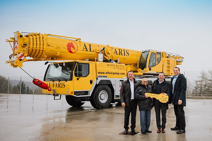 Al Faris places major order with Liebherr worth around 80 million euros!