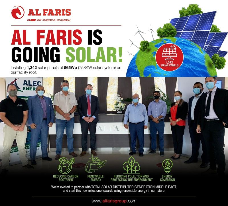 Al Faris is going Solar!