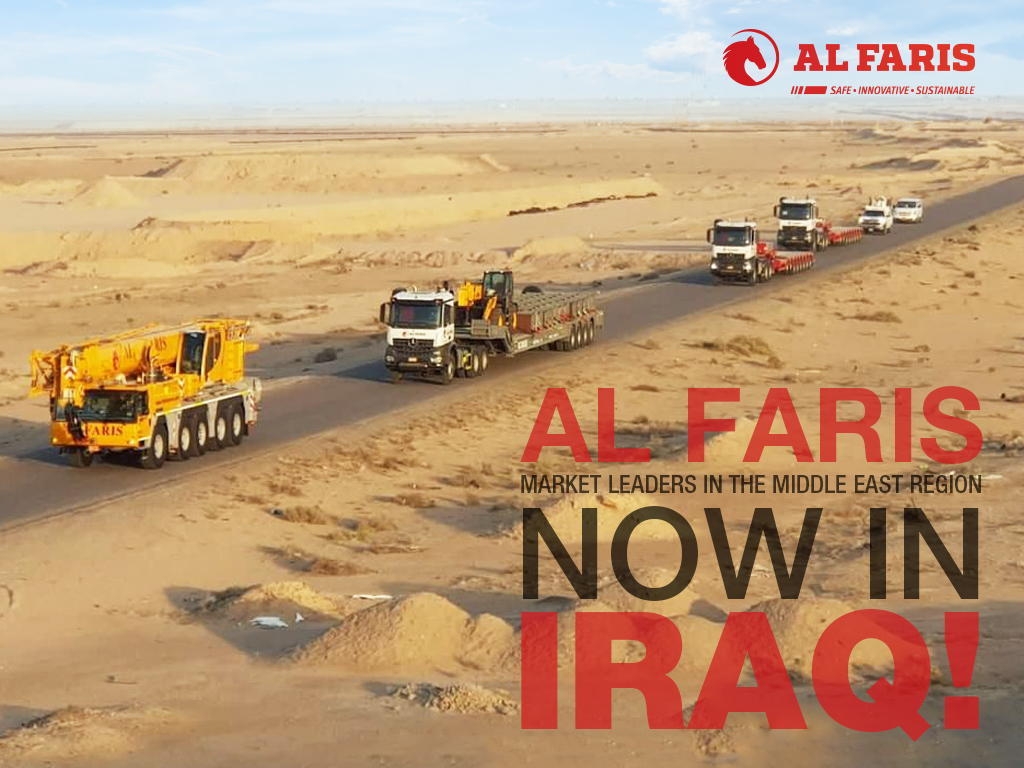 Al Faris now in IRAQ!